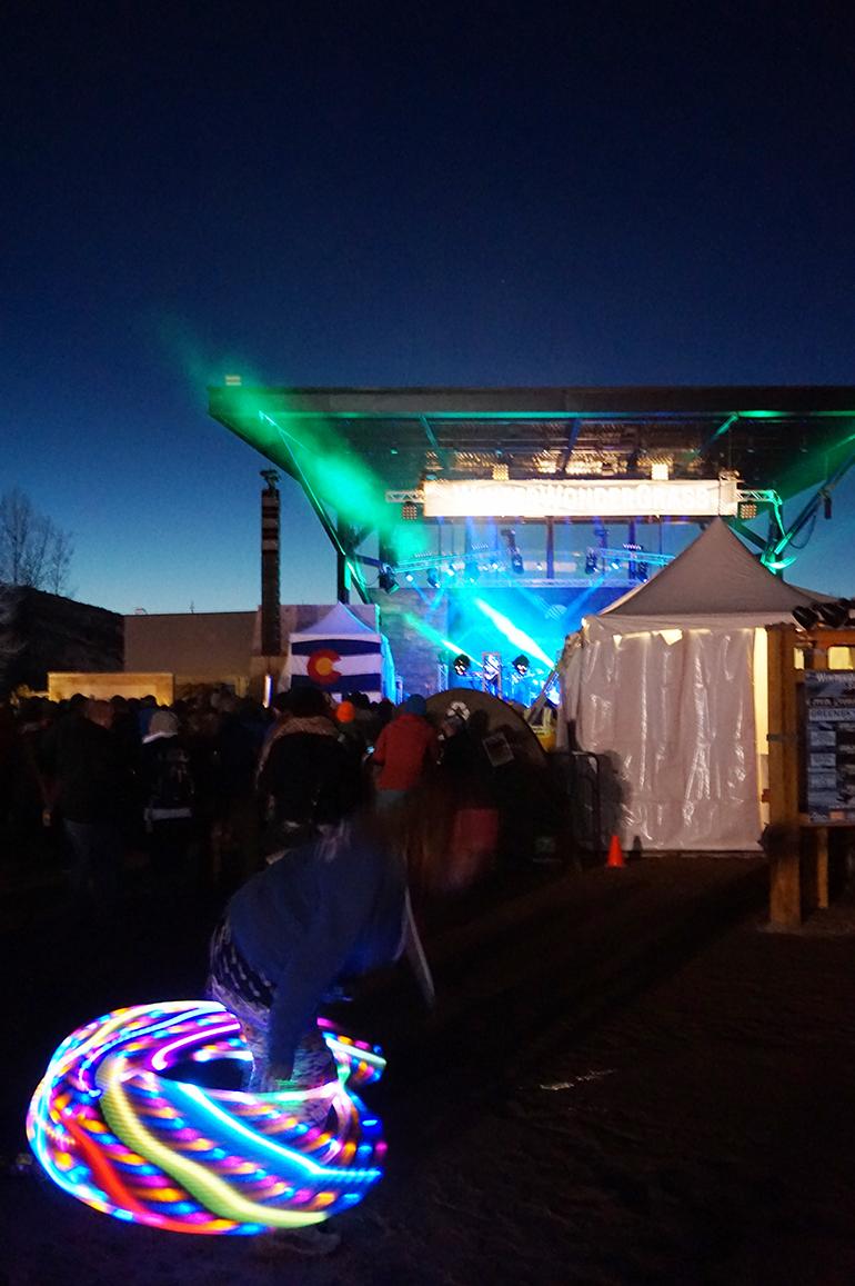 Hula Hoop WinterWonderGrass Festival