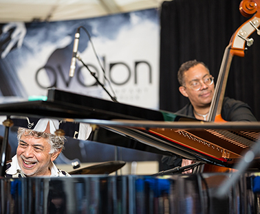 Vail Jazz Presents an Intimate Lounge Performance with Monty Alexander, John Clayton and Jeff Hamilton