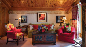 Master Bedroom Sitting Area Photograph by Brent Bingham